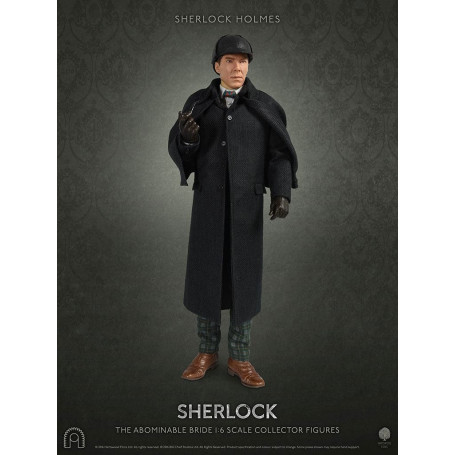 Big Chief - Sherlock Holmes - Sean Connery - 1/6 Collector Figure Series - The Abominable Bride - 30cm