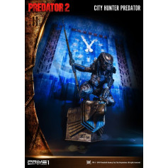 Prime One Studio - Predator 2: City Hunter Predator Wall Art - 78cm
