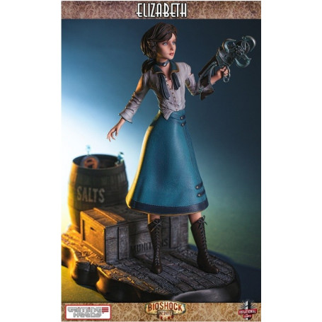 Gaming Heads Bioshock Elizabeth - 18""