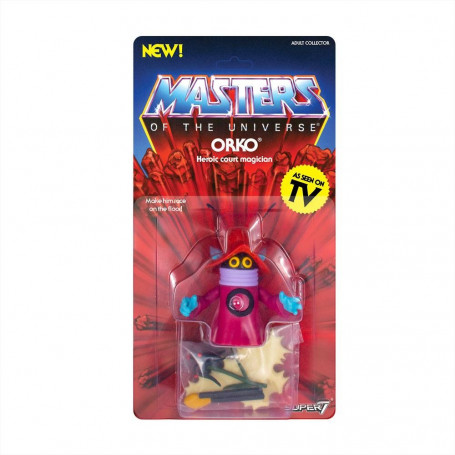 Masters of the Universe - Les Maîtres de l'Univers - Vintage Collection figurine Orko - 14 cm