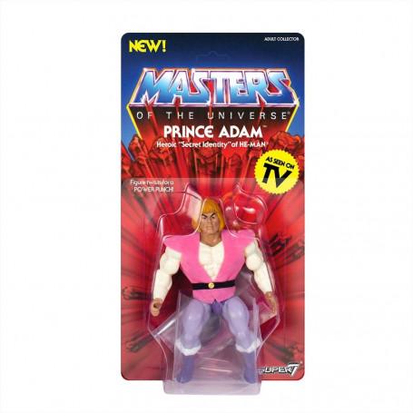 Masters of the Universe - Les Maîtres de l'Univers - Vintage Collection figurine Prince Adam - 14 cm