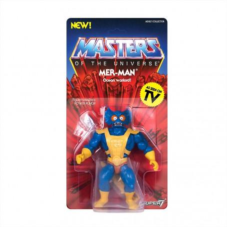 Masters of the Universe - Les Maîtres de l'Univers - Vintage Collection figurine Mer-Man - Oceanor - 14 cm