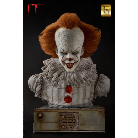 Elite Creature Collectibles Pennywise Buste taille réelle