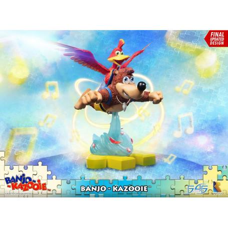 First 4 Figures - Banjo-Kazooie - statuette Banjo & Kazooie - 51 cm