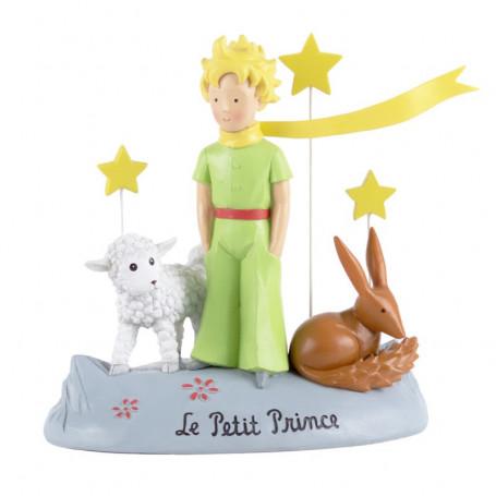 Enesco - Statue -Le Petit Prince, le Renard et le Mouton