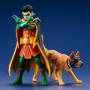 Kotobukiya ArtFx - DC Batman Robin et Ace the Bat-Hound