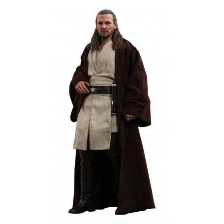 Hot toys - Star Wars Episode I - Movie Masterpiece 1/6 - Qui-Gon Jinn - 32 cm