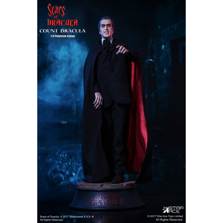 Star Ace Statue 1/4 The Scars of Dracula Christopher Lee