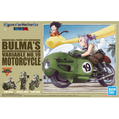 Bandai Dragon Ball figure Rise Mechanics - Bulma`s Variable No.19 Motorcycle