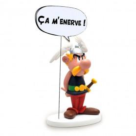Asterix statuette - Collectoys Collection - Bulles Asterix Ça M'énerve! - 15 cm