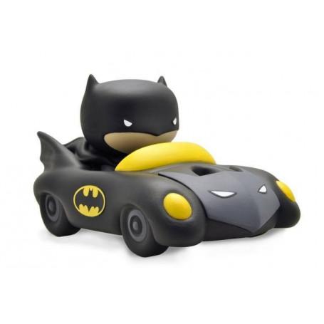 Plastoy Tirelire - Justice League Chibi PVC - Batman & Batmobile - 17 cm