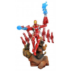 Diamond Select Marvel Gallery Figurine PVC Iron Man Mark 50 Avengers Infinity War