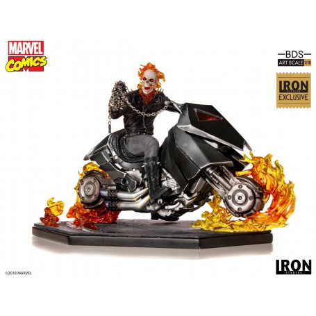 Iron Studios Marvel - BDS Art Scale 1/10 - Ghost Rider - CCXP 2018 Exclusive - 33cm