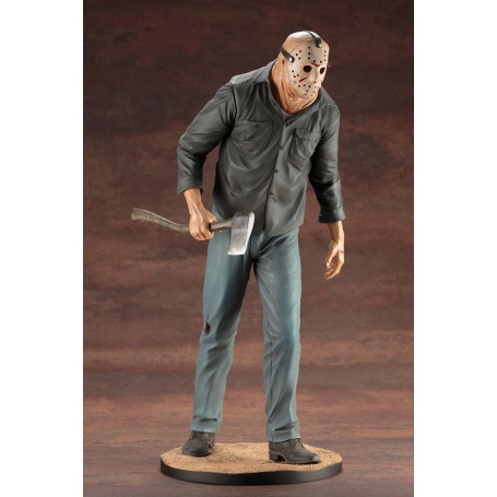 Kotobukiya Art FX 1-6 Figurine PVC Jason Voorhees - Friday the 13th - Vendredi 13 - Meurtres en 3Dimension - Part 3 in 3Ds