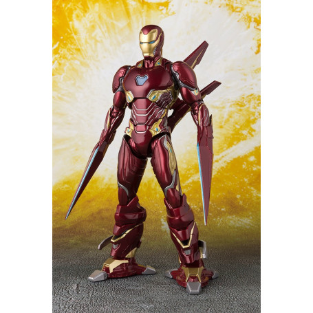 Bandai Iron Man SH Figuarts Mark 50 Nano Weapon Avengers 3