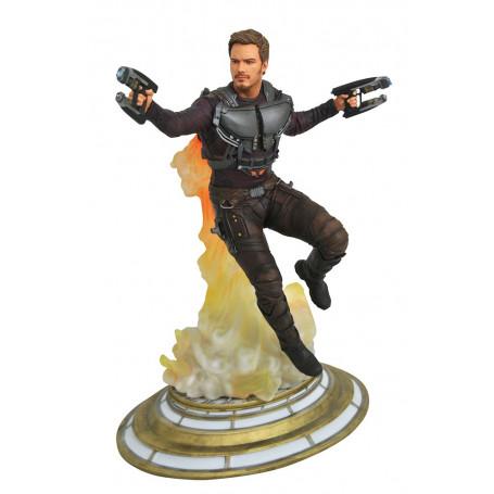 Diamond Marvel Gallery Figurine Starlord Démasqué gardiens de la Galaxie