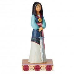 "Enesco Disney Showcase Mulan ""Winsome Warrior - Guerrier Galant"""