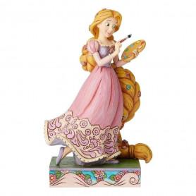 "Enesco Disney Traditions - Raiponce - ""Adventurous Artist"" - 19cm"