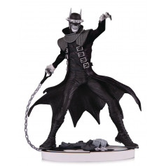 DC Direct Statue The Batman Who Laughs - Black and white by Greg Capullo - 19cm