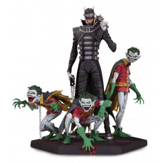 DC Collectibles - Dark Nights Metal - Deluxe Batman Who Laughs & Robin Minions - 21 cm
