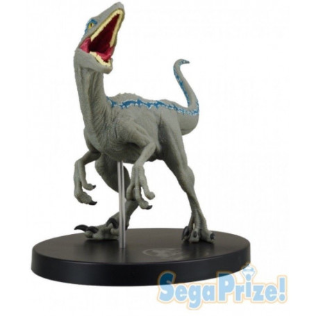 Sega Jurassic World - Figurine Raptor Blue Premium