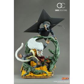Oniri Creations - Naruto - Hiruzen Sarutobi & Enma - Sandaime Hokage – The Last Fight