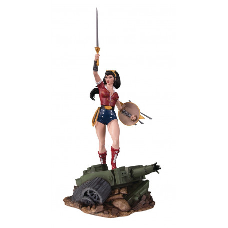 DC Comics Bombshells statue Wonder Woman Deluxe