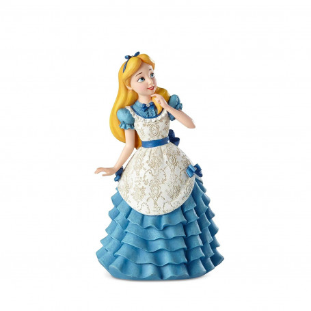 Alice au pays des merveilles - Statue Disney Haute Couture -