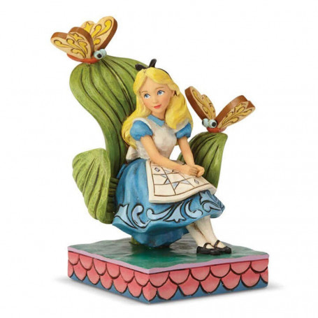 "Enesco Disney Traditions - Alice au pays des Merveilles - ""Curiouser and Curiouser"" - 14cm"