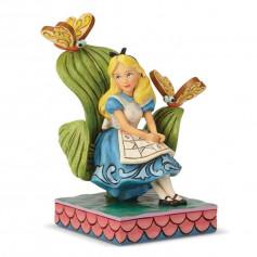 "Enesco Disney Traditions - Alice au pays des Merveilles - ""Curiouser and Curiouser"" - 14cm"