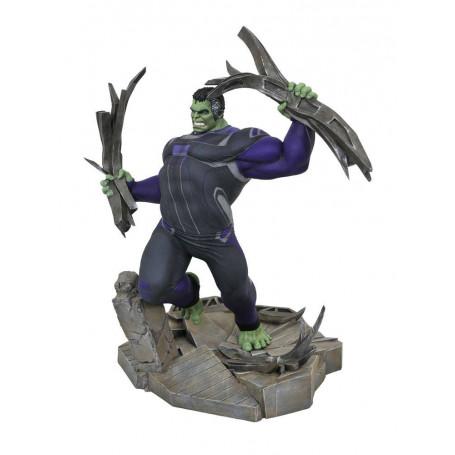 Diamond Marvel Gallery Figurine - Avengers Endgame - Tracksuit Hulk - 23cm