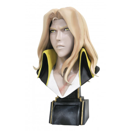 Diamond Select Toys - LEGENDS IN 3D - CASTLEVANIA ALUCARD 1/2 Bust - 25cm