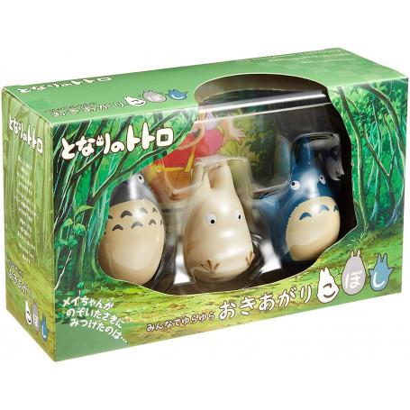 Mon voisin Totoro - Set de 3 Culbuto Totoro