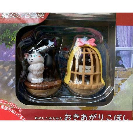 Kiki la Petite Sorciere - Set de 3 Culbutos Totoro