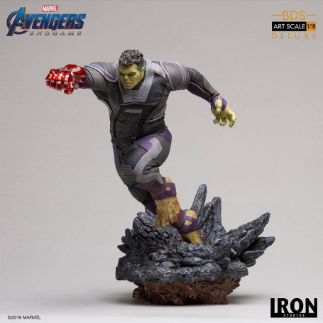 Iron Studios Marvel - Avengers Endgame - Hulk Deluxe Version - BDS Art Scale 1/10 - 22cm