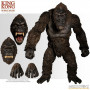 Mezco - King Kong - Figurine King Kong of Skull Island - Ultimate version 45 cm