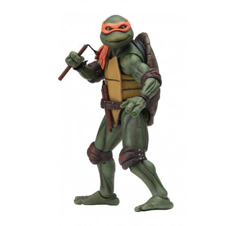 Neca - TMNT - Teenage Mutant Ninja Turtles - Les Tortues Ninja - The Movie - Michaelangelo - 18cm