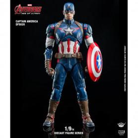 King Arts Marvel Avengers: Age of Ultron - 1/9 Captain America - die cast - 22cm