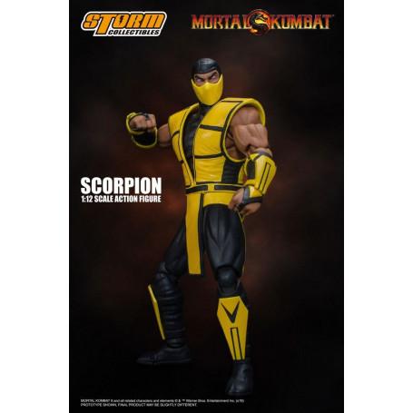 Storm Collectibles - Mortal Kombat 3 - Scorpion - 1/12 - 16cm
