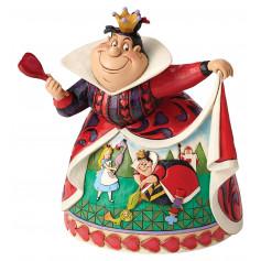 Enesco Disney Traditions - Alice au pays des Merveilles - Reine de Coeur