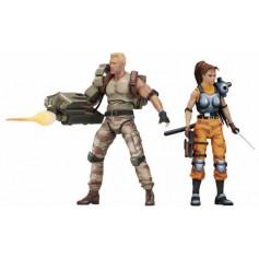 Neca Alien vs Predator Arcade Dutch and Lin