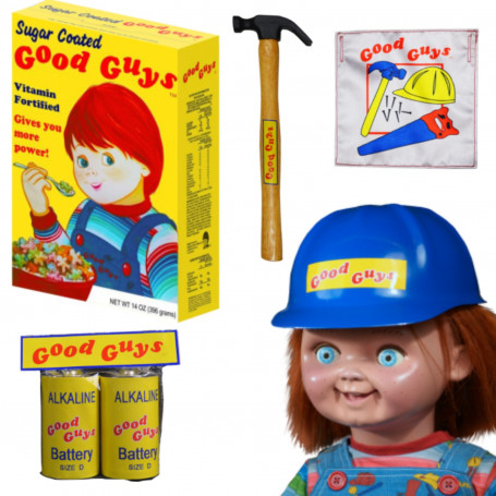 Trick or Treat Studios - Child's Play 2 Chucky Good Guy Doll Accessories Bundle