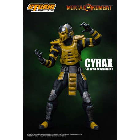 Storm Collectibles - Mortal Kombat 3 - Cyrax - 1/12 - 18cm