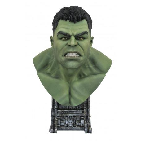Diamond Select Toys - LEGENDS IN 3D - Marvel - THOR RAGNAROK HULK - 1/2 Bust - 25cm