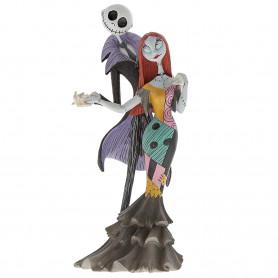 Disney Haute Couture Statue - L'Etrange Noel de Mr. Jack - Jack et Sally - 22cm
