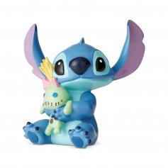Disney Traditions Lilo et Stich - Stitch et la peluche - 6cm