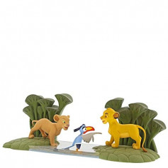 Enesco Disney Enchanting Collection - Le Roi Lion - Simba, Naala et Zazu - 33cm