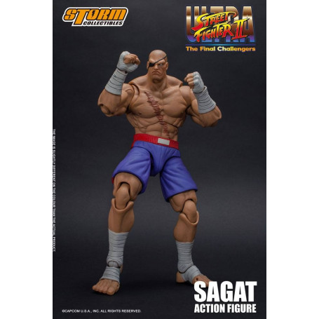 Storm Collectibles - Ultra Street Fighter II : The Final Challengers - Sagat 1/12