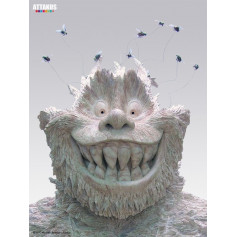 "Attakus - Trolls de Troy - Teträm version ""patine marbre"""