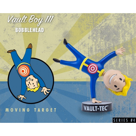 Gaming Head Fallout 4 Serie 4 Bobble Heads Vault Boy 111 - Moving Target